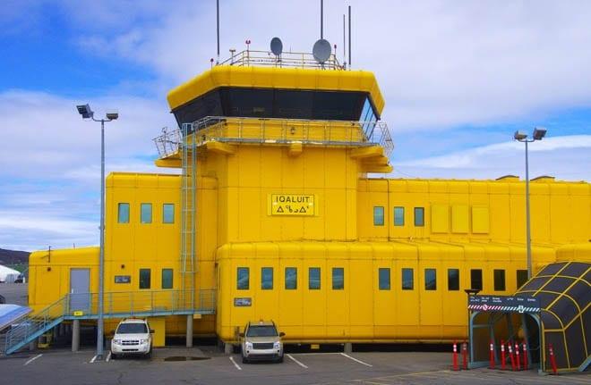 The Iqaluit Airport