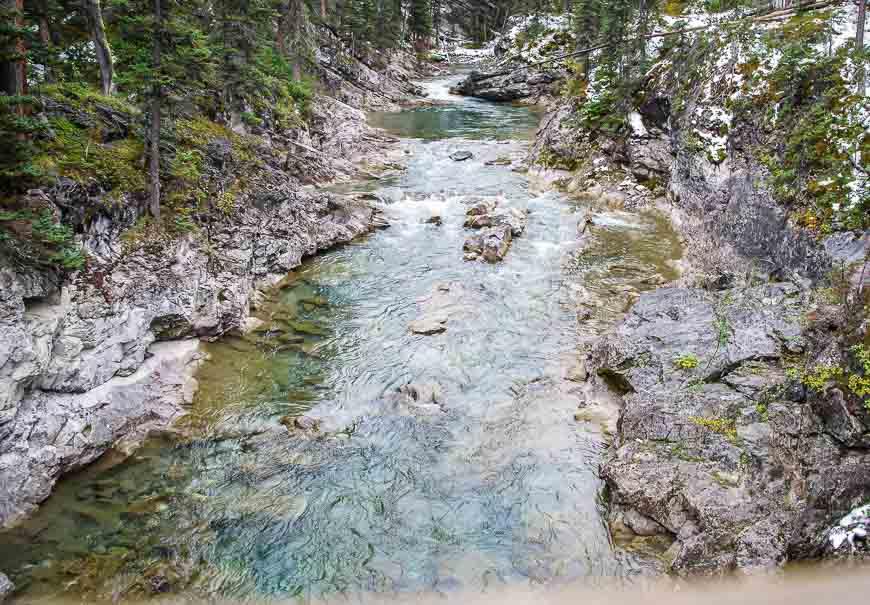 The beautifulSpray River