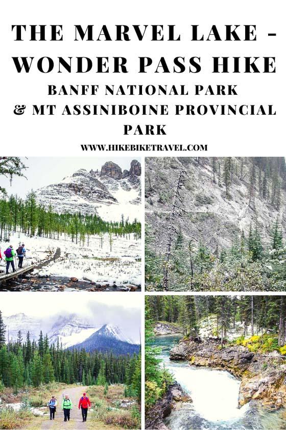The Marvel Lake - Wonder Pass hike in Banff National Park & Mt. Assiniboine Provincial Park