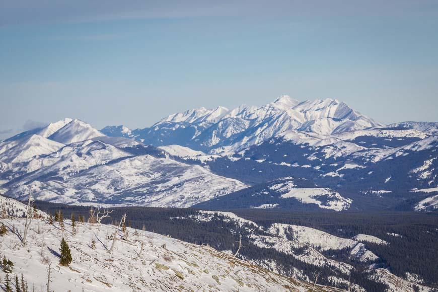 Expansive mountain views Photo credit: Garth Helland