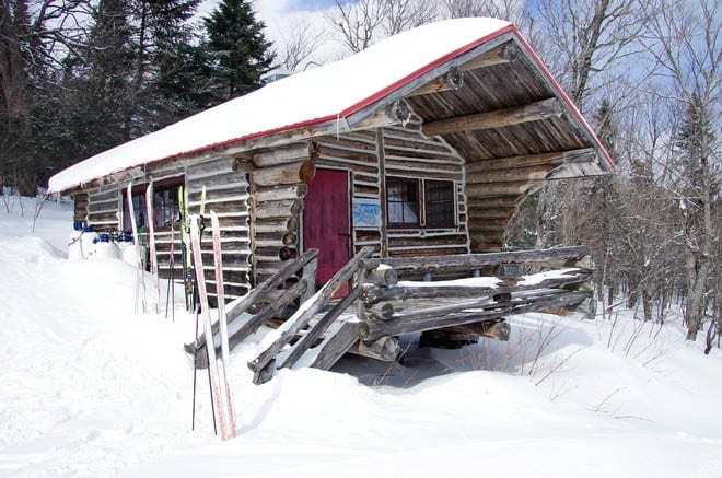 We spent a lot of time in warming cabins last winter trying to thaw frozen toes