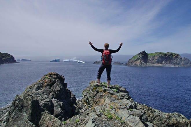 Newfoundland's outstanding coastal scenery