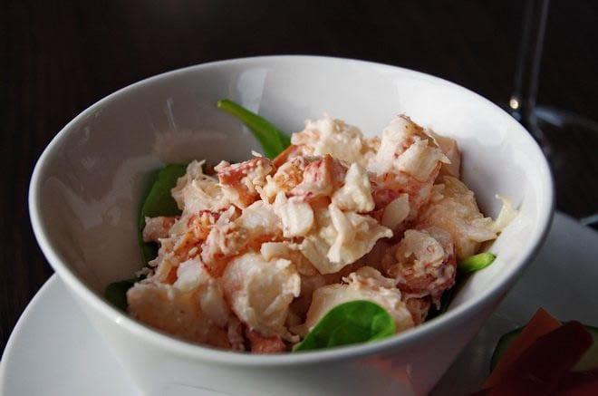 A lobster salad I still dream about