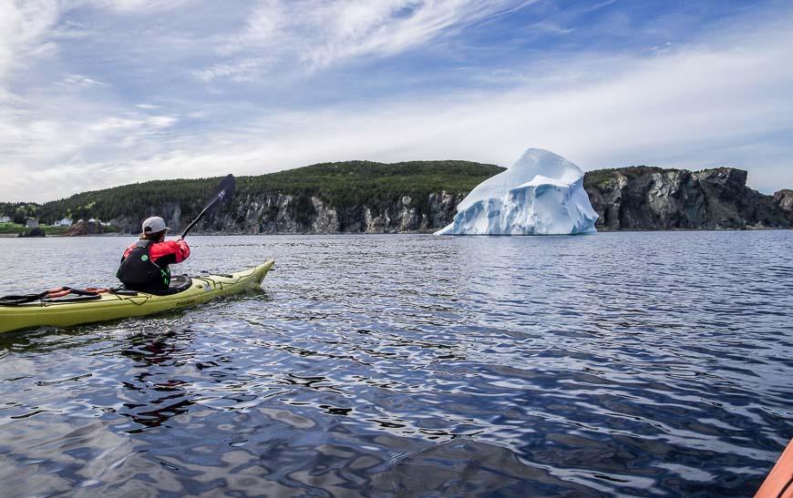 Twillingate Newfoundland In Iceberg Season
