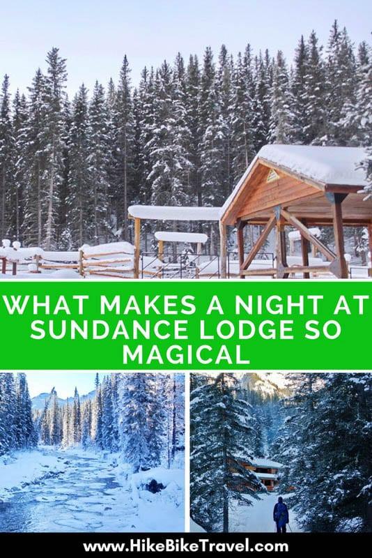 A magical night at Sundance lodge in Banff National Park