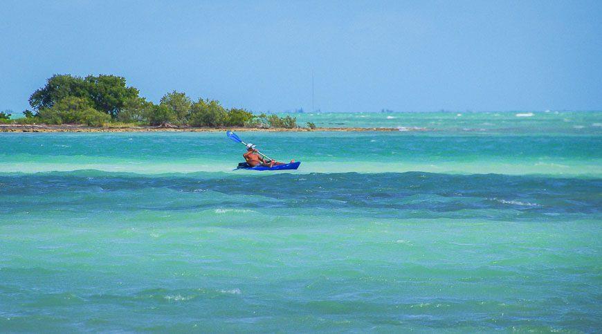 Kayaking looks like fun