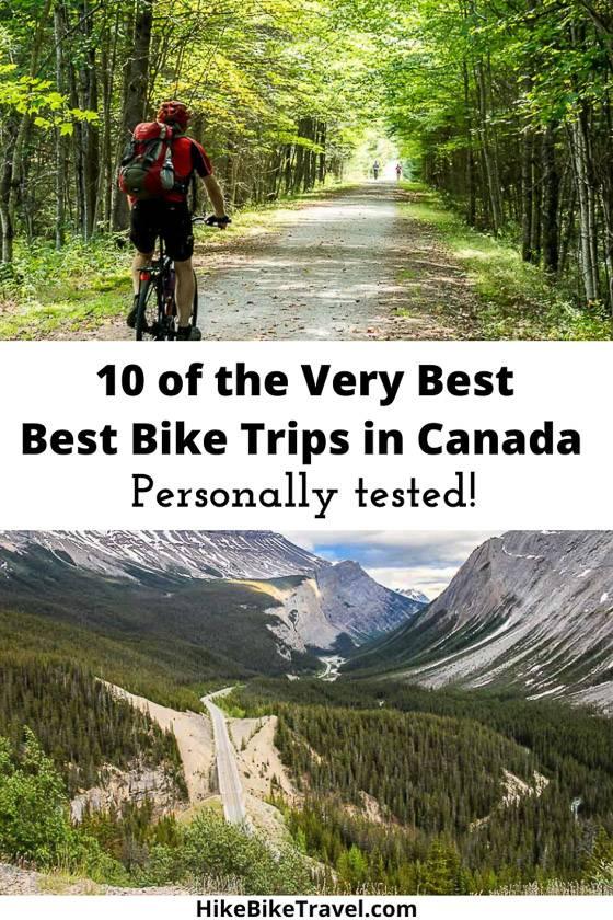 10 of the best bike trips in Canada