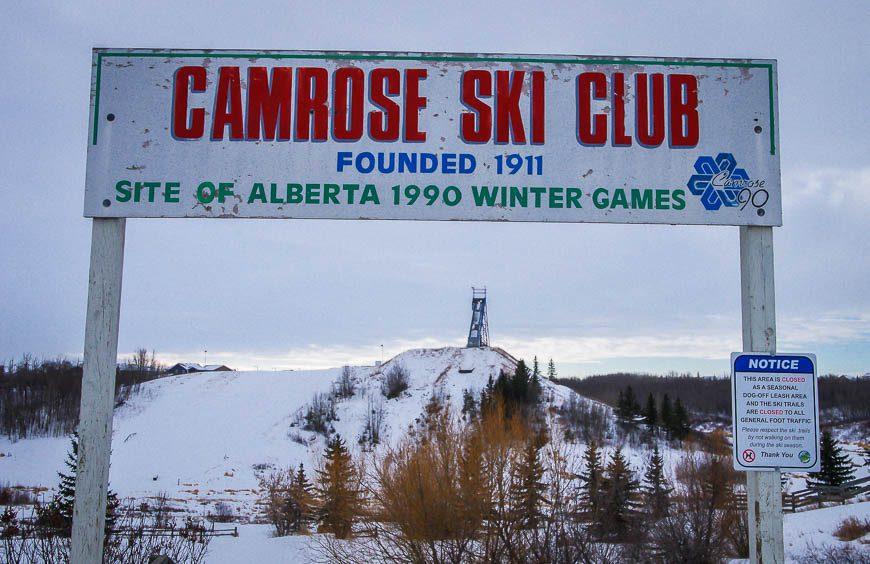 The Camrose Ski Club - founded in 1911