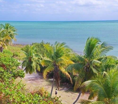 The view from the bridge - Bahia Honda State Park