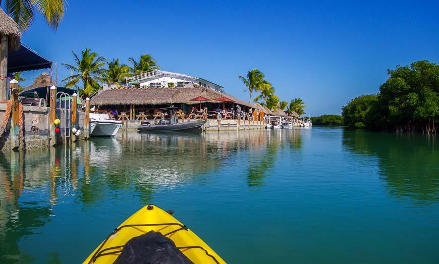 Coming full circle on our Florida Keys Kayaking trip