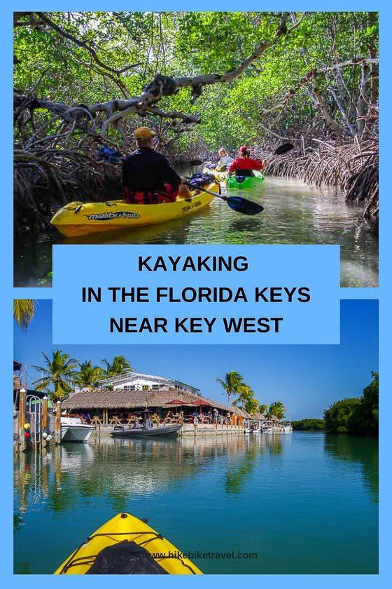 Kayaking in the Florida Keys near Key West