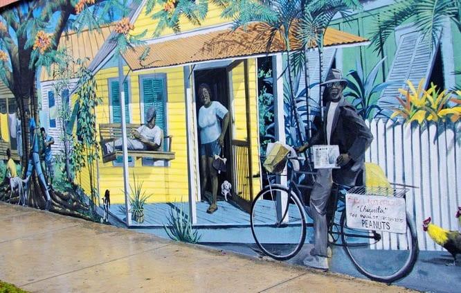 Mural in Key West