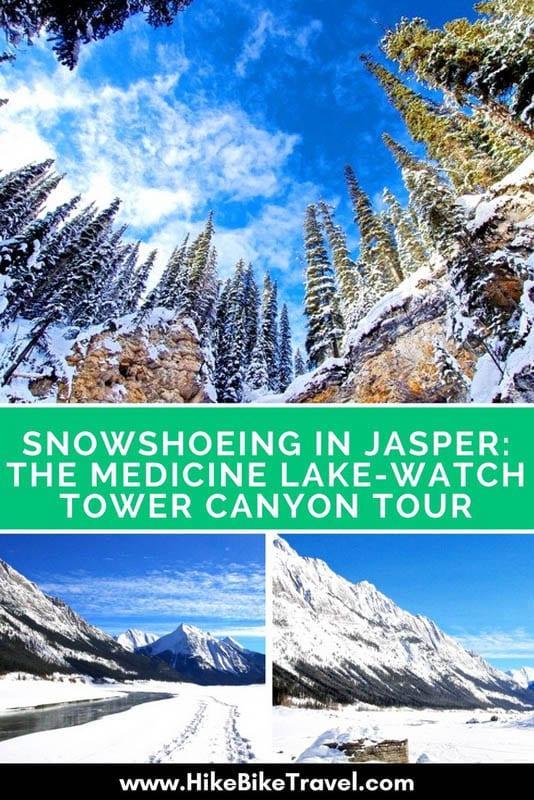Snowshoeing in Jasper: The Medicine Lake - Watchtower Canyon Tour
