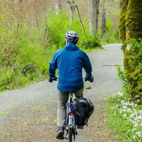 Biking the Lochside Trail in Victoria