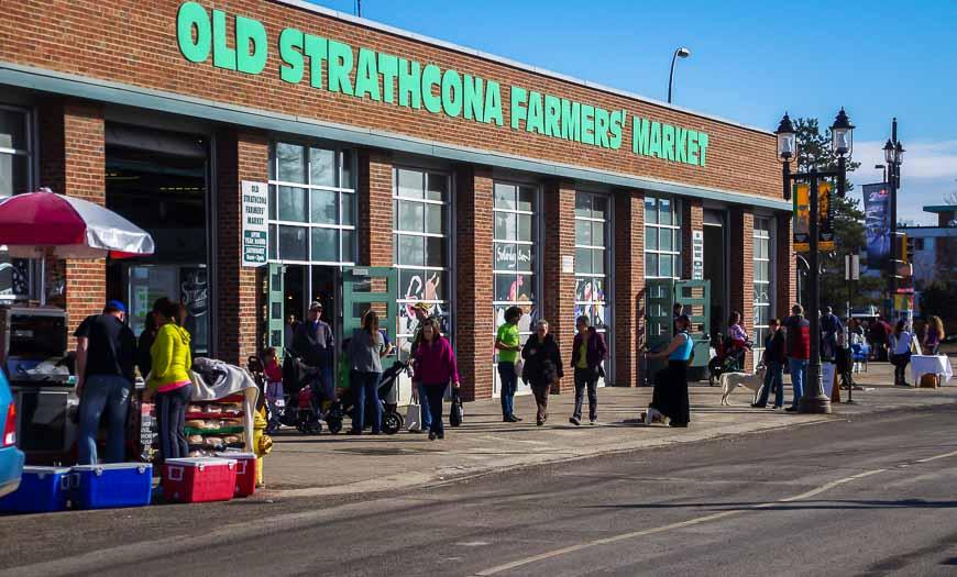 The Old Strathcona Farmer's Market