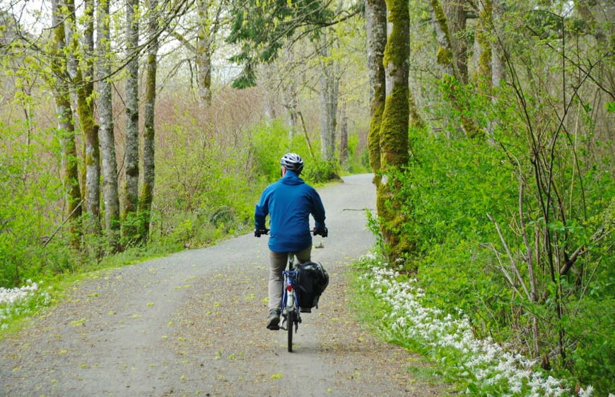The Lochside And Galloping Goose Trails Are Particularly Beautiful In Spring When The Flowers Are Blooming