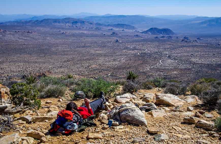 Chillin' On The Summit Of Ryan Mountain