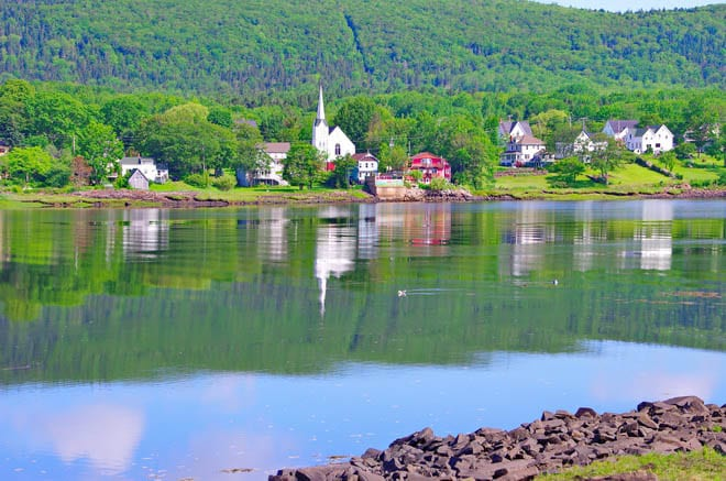 Annapolis Royal is a pretty town and a perfect base for bike rides