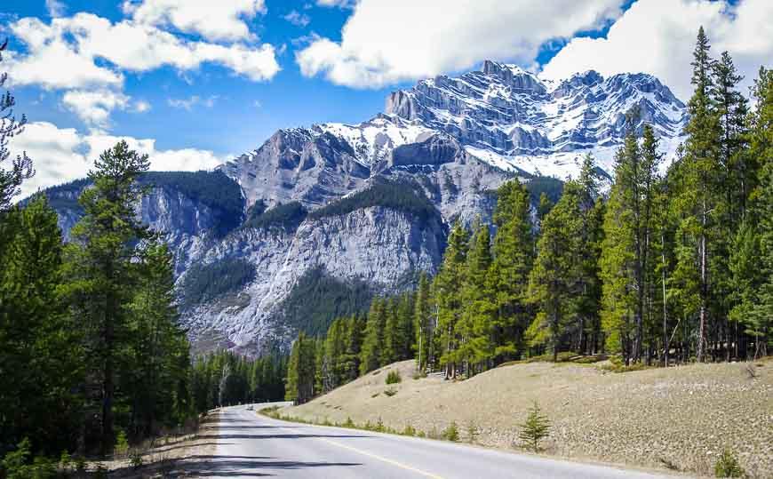 Looking back towards Cascade Mountain