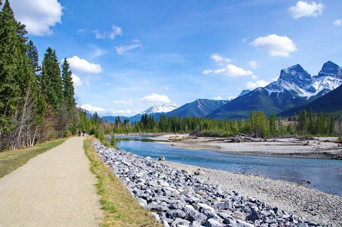 Canmore, Alberta: A Hiking and Biking Destination
