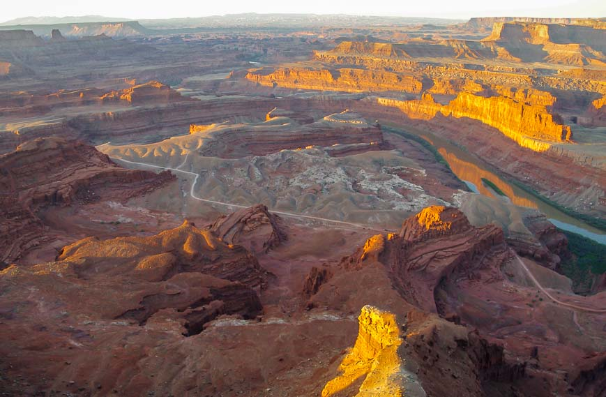 Interesting To See Dead Horse Point State Park Come Alive With The Sun