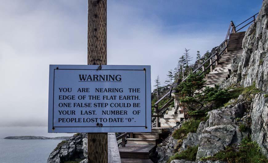 Hiking to the edge of the Flat Earth, Fogo Island