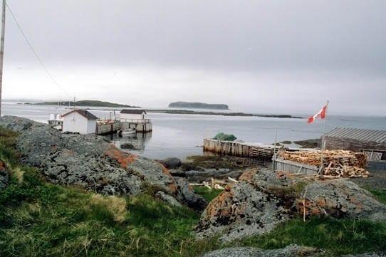 Settlement near L'Anse aux Meadows