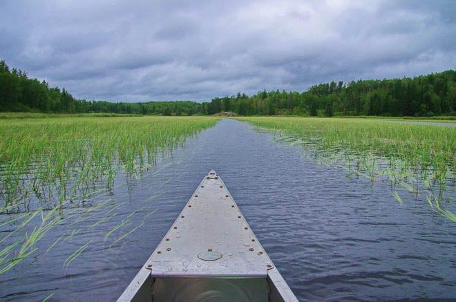 Canoeing the Caddy Lake Circuit, Manitoba