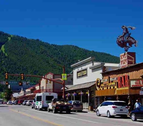 Downtown Jackson Hole, Wyoming
