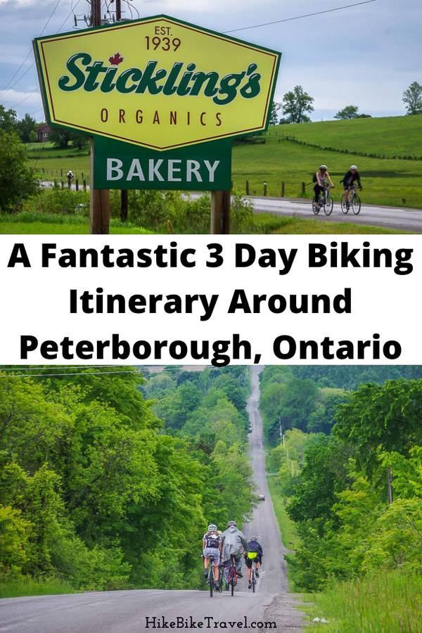 A fantastic 3 day biking itinerary around Peterborough, Ontario