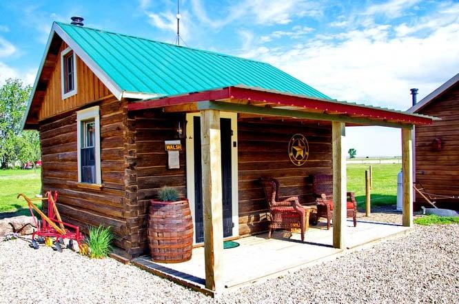 Walsh Cabin, Ghostown Blues B&B in Maple Creek, Saskatchewan
