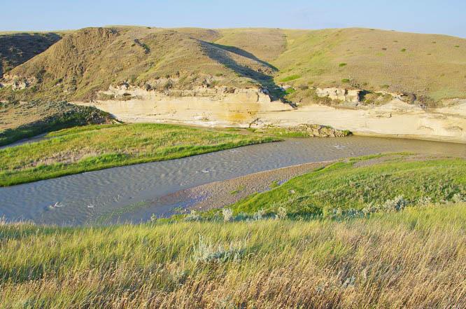 Milk River ripples