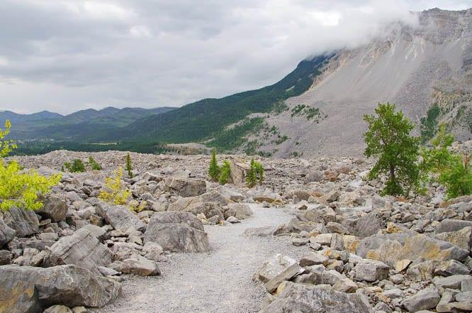 Visiting the Frank Slide – Canada's 2nd Largest Landslide