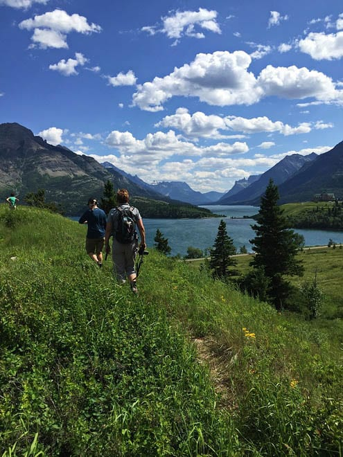 Waterton's lakes are some the deepest in the Rockies - Photo credit: Carol Patterson
