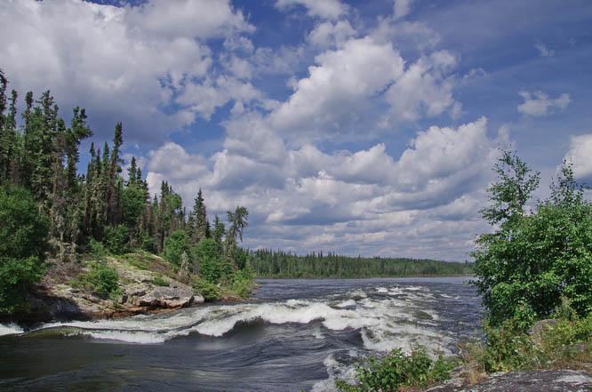 The Churchill River in Saskatchewan