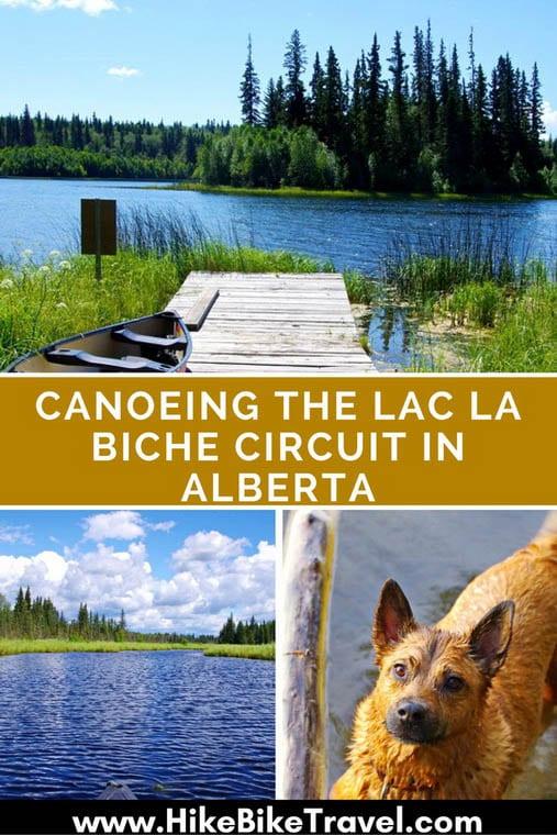 Canoeing the Lac la Biche Circuit in Alberta