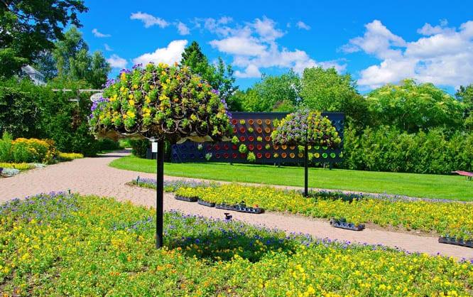 Gardens in St. Andrews, New Brunswick