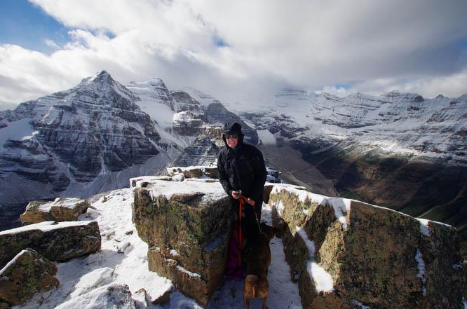 Summit of Fairview Mountain