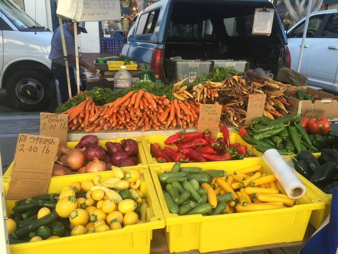 The Farmer's Market in Santa Barbara