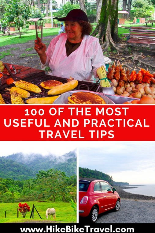 100 of the most useful and practical travel tips