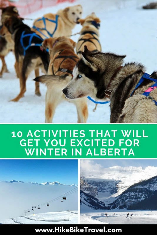 10 activities that will get you excited for winter in Alberta