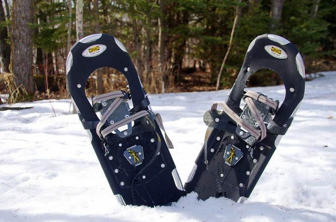 Snowshoeing in Elk Island National Park