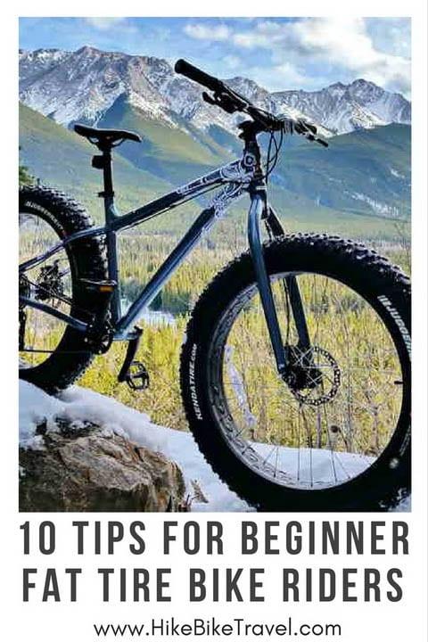 10 Tips for Beginner Fat Tire Bike Riders