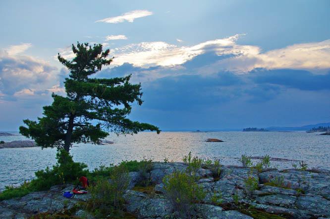 Classic Georgian Bay scenery