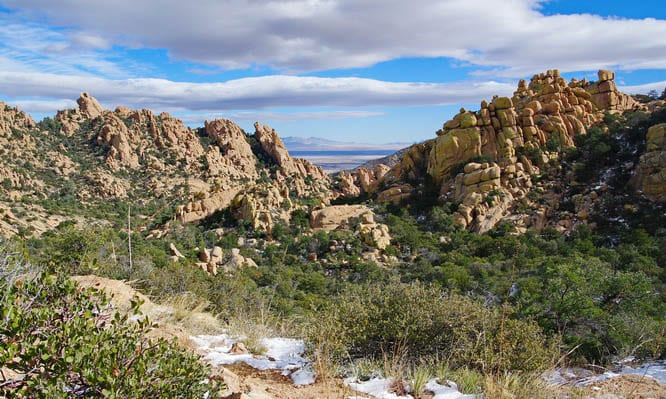 Cochise Stronghold hike in Arizona's Dragoon Mountains