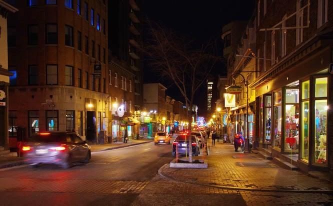 The vibrant Saint-Jean district