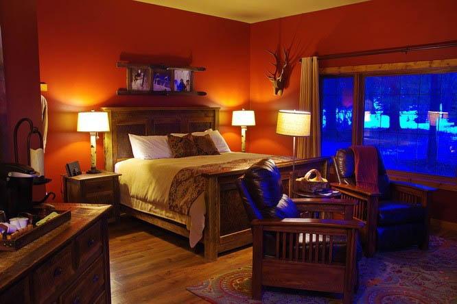 Our room at the Prairie Creek Inn, Rocky Mountain House