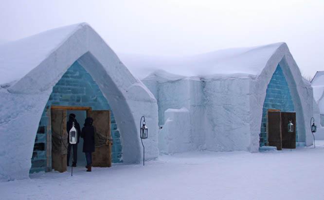 Quebec City's Ice Hotel in 2014