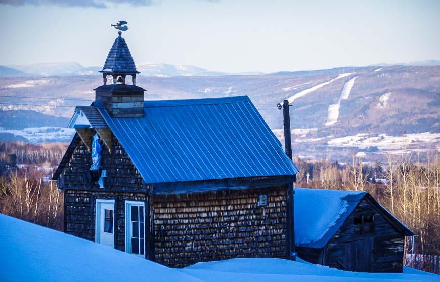 Beautiful scenery in the Charlevoix region