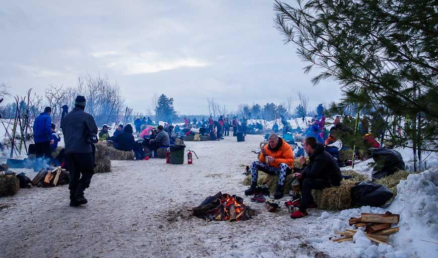 Gold Camp for the Coureurs des Bois